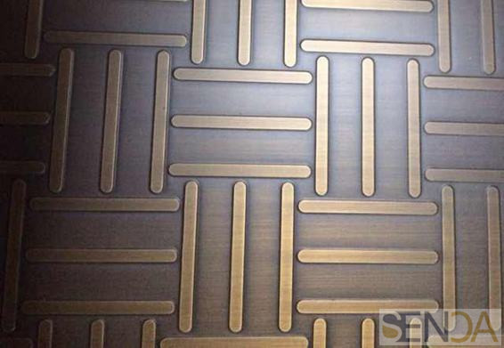 Stainless Steel Sheets Etched Finishes01